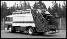 The first refuse collector left NTM in 1975, destined for export to Sweden.